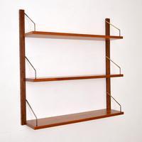 Danish Teak Royal  Shelving Bookshelf by Poul Cadovius (2 of 11)
