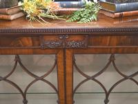 Antique Chippendale China Cabinet Mahogany Antique c.1910 (3 of 15)