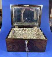 Victorian Rosewood Jewellery Box (9 of 17)