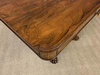 William IV Rosewood Library Centre Table (12 of 18)
