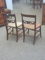 Pair of Brass Inlaid Chairs (3 of 9)