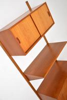Danish Teak Vintage PS  Wall  System Bookcase Cabinet (6 of 9)