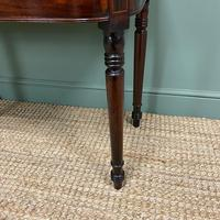Elegant Regency Mahogany Antique Tea / Side Table (5 of 7)