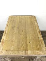 Rustic Antique Pine Farmhouse Kitchen Table (4 of 12)