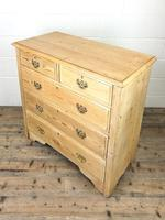 Antique Pine Chest of Drawers (8 of 10)