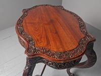 Unusual Anglo-Indian Hardwood Occasional Table (4 of 11)