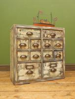 Reclaimed Hand Made Bank of Drawers (11 of 20)