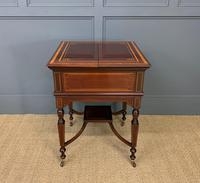 """Inlaid Mahogany """"Surprise"""" Drinks Table (3 of 15)"""