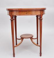 19th Century Satinwood Table (3 of 8)