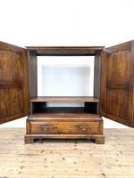 20th Century Reproduction Oak Side Cupboard (4 of 10)