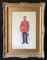 RSM 102nd Royal Madras Fusiliers 1861-1881 Watercolour