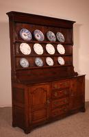 English Oak Dresser & Rack Early 18th Century (10 of 12)