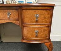 Stylish Burr Walnut Queen Anne Dressing Table (6 of 14)