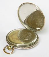 Beautiful Niello-ware Pocket Watch (5 of 6)