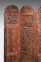 19th Century Carved Eastern Screen (9 of 9)