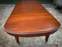 Victorian 3 Leaf Extending Dining Table Seats 10 (4 of 13)