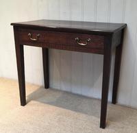 Early 19th Century Oak Side Table (6 of 10)