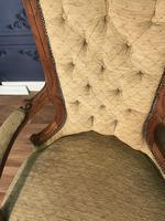 Quality Victorian Walnut Armchair (2 of 14)