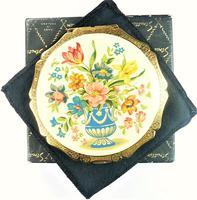 Rare Late 1950s Enamel Stratton Powder Compact (6 of 7)