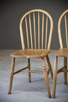 4 Beech & Elm Kitchen Chairs (5 of 12)