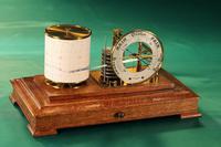 Drum Barograph & Barometer by Negretti & Zambra No 455 c.1918 (2 of 12)