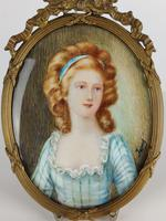 Ivory Miniature of a Lady (4 of 7)