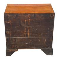 Georgian 19th Century Mahogany Chest of Drawers - Caddy Top c.1800 (8 of 8)