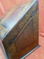 Antique Victorian Letter Sorter Writing Box Burl Walnut Veneer C1880s (2 of 12)