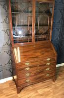 Georgian Mahogany Bureau Bookcase (4 of 17)