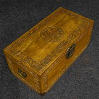 Mid 20th Century Camphor Wood Trunk (5 of 8)