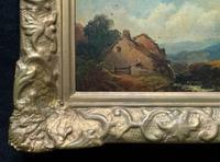 Joseph Horlor Small Original 19th Century Welsh Landscape Oil Painting (10 of 12)