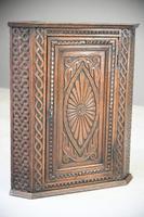 Antique Carved Oak Corner Cabinet (12 of 12)