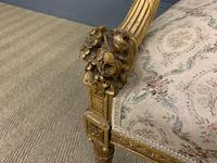 19th Century French Giltwood Settee (9 of 15)