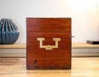 Georgian Mahogany Apothecary Box 1800 (4 of 14)