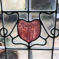 Antique Stained Glass Panel (11 of 12)