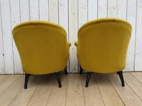 Pair of Antique Napoleon III Armchairs for re-upholstery (7 of 9)