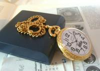 Vintage Pocket Watch 1970s Railroad 12ct Gold Plated Swiss & West Germany Nos (12 of 12)