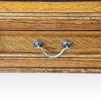 Victorian Oak Maple & co Pedestal Desk (7 of 11)