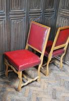 Set of 8 French Leather Dining Chairs (6 of 7)