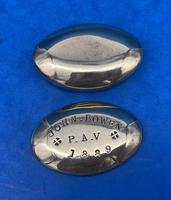 19th Century Brass Minors Tobacco Tin (6 of 12)