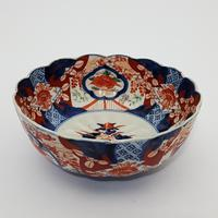Late 19th Century Japanese Imari Small Scalloped Bowl (4 of 6)