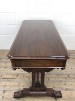 Antique William IV Mahogany Side Table (16 of 16)
