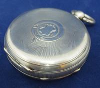 Antique Silver Pocket Watch Keyless Wind Open Face Pocket Watch Kay & Comp (5 of 10)