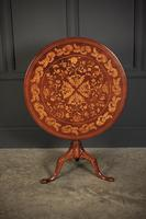 18th Century Dutch Marquetry Inlaid Occasional Table (4 of 14)