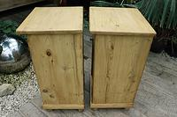 Fab! Two Matching 'will split' Old Pine Bedside Cabinets - We Deliver! (7 of 8)