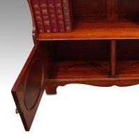 Edwardian Mahogany Open Bookcase (3 of 8)
