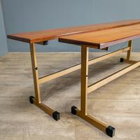 Pair of Teak Benches (4 of 7)