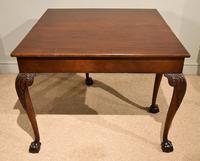 George III Mahogany Foldover Tea Table (6 of 8)