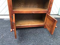 Carved Oak Open Bookcase (7 of 7)