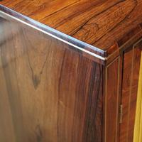 Regency Brass Inlaid Rosewood Side Cabinet (3 of 8)